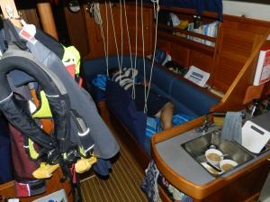 Sea berth