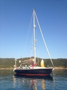 Anchored at Chiuni