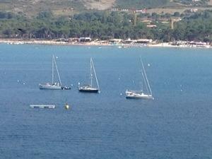 View from Calvi
