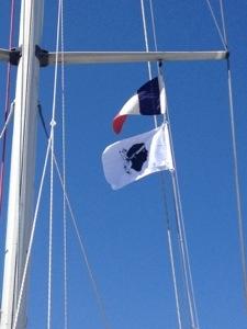The Corsican flag